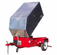 Aluminum Trailer Cover - Standard Size