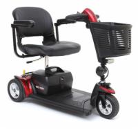 Pride Go-Go Sport - 3 Wheel Travel Scooter