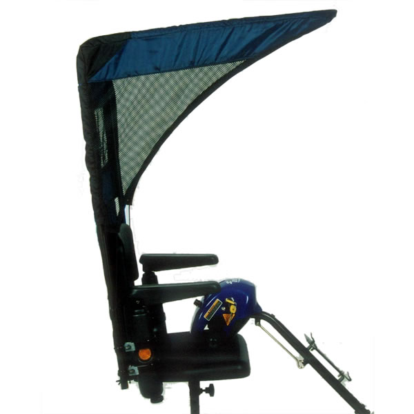 WeatherBreaker Canopy - Vented  sc 1 st  Electric Scooters & Scooter Accessories - Scooter Canopies - Vented WeatherBreaker Canopy
