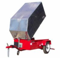 Aluminum Trailer Cover - Standard Size - Tall